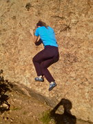 Rock Climbing Photo: Starting.
