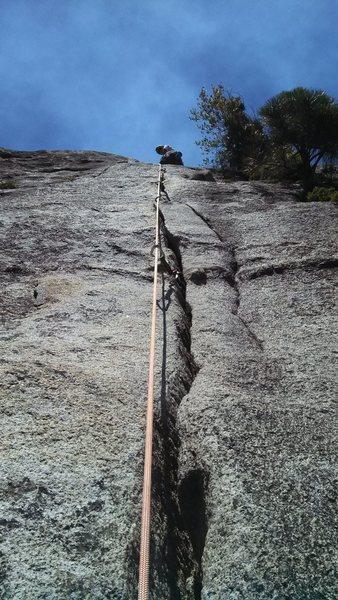 Rock Climbing Photo: Jam crack 5.9
