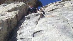 Rock Climbing Photo: Dung foo 5.7