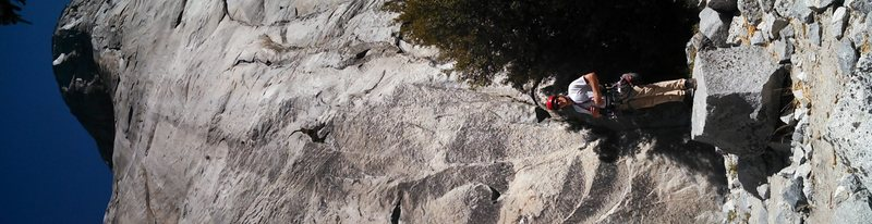 Rock Climbing Photo: El cap base
