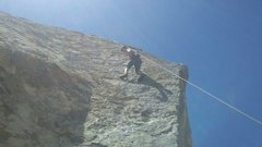 Rock Climbing Photo: Toproping on Headstone