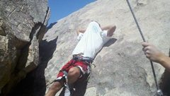 Rock Climbing Photo: It was hot
