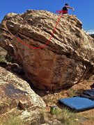 Rock Climbing Photo: Beta map (part 2).