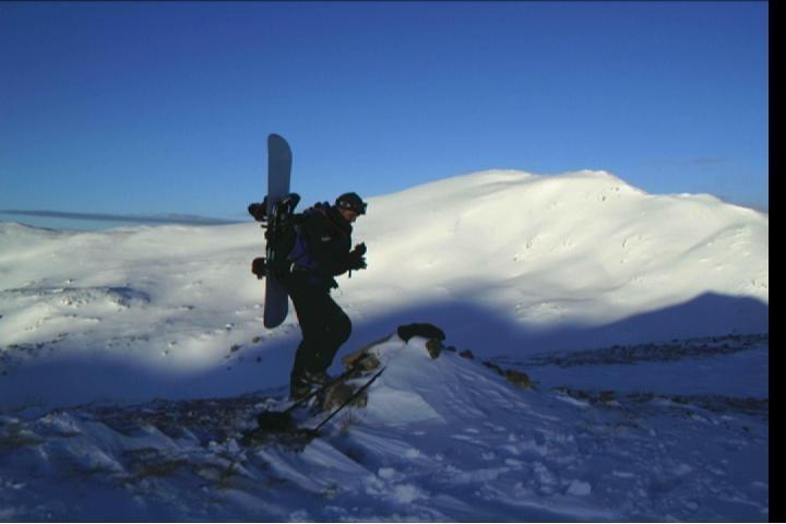 Rock Climbing Photo: backcountry goodness