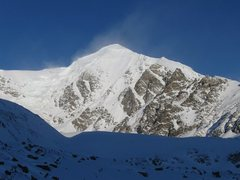Rock Climbing Photo: NW face of White Princess on the approach up the M...