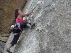 Rock Climbing Photo: Becca Corbin on D.D.