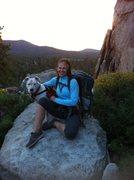 Rock Climbing Photo:  Climbing at HVP with Haiku.
