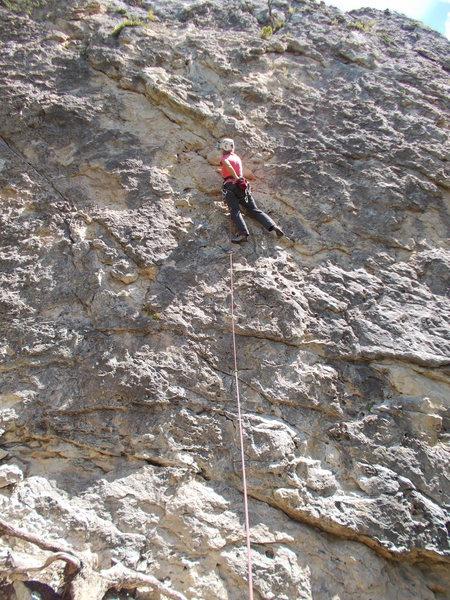 Rock Climbing Photo: Skin Diver