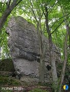 Rock Climbing Photo: A nice picture of the left block of this crag. Tol...