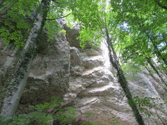 Rock Climbing Photo: Another view of the roof on the left side of the M...