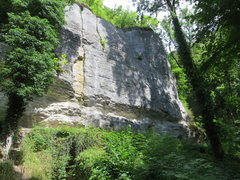 Rock Climbing Photo: The Glatte Wand