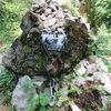 The Kurt Albert memorial at the base of the crag.