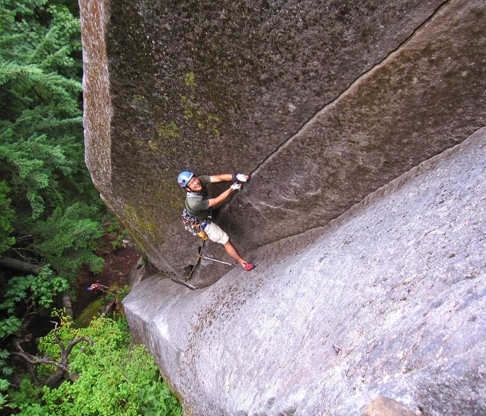 Rock Climbing Photo: Jeff Matsushita leading Senior Citizens in Space (...