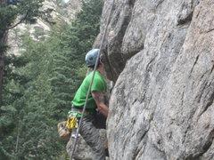 Rock Climbing Photo: 2nd tier - 5.10d
