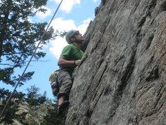 Rock Climbing Photo: Avalon Wall - 5.10d
