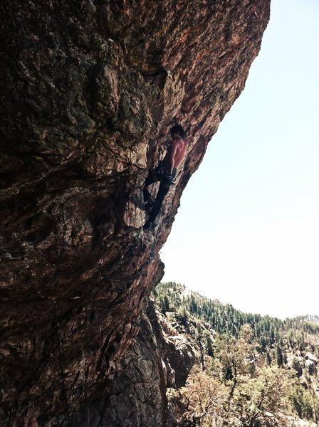 Rock Climbing Photo: Corned Beef & Thrash