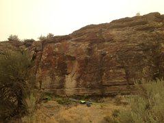Rock Climbing Photo: The Cutting Edge Traverse 1/2