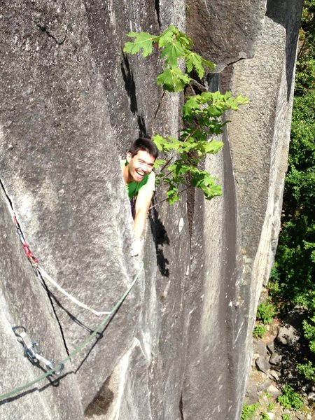 so happy to be sport climbing at Index