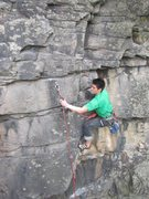 Rock Climbing Photo: bolt 3 (i think) on the route.  great climb all ar...