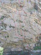 "Rock Climbing Photo: Left - ""Water Sports"". Center - ""Cl..."