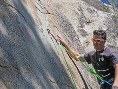 Rock Climbing Photo: guy in pic