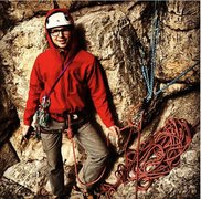 Rock Climbing Photo: easy belay on skyline traverse in Jan