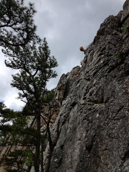 easy climbs above luncheon ledge