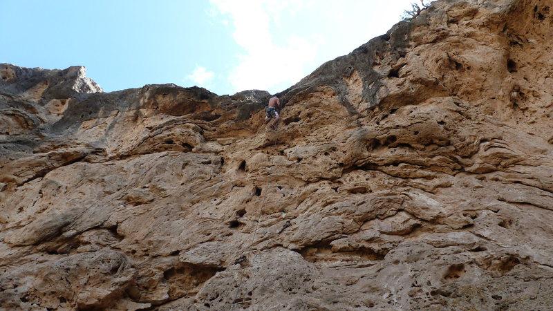 Rock Climbing Photo: Big Medicine