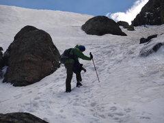 Rock Climbing Photo: Approaching Lake of Glass (11,000 feet), RMNP, CO