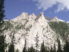 Rock Climbing Photo: Unknown rock.