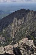 Rock Climbing Photo: The Chimney, Pamola...Katahdin.