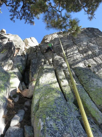 Rock Climbing Photo: Black Beard.