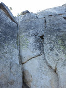 Rock Climbing Photo: Best of Both Worlds (left). Just next to chimney.