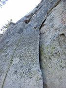 Rock Climbing Photo: The start of Aurora Borealis.