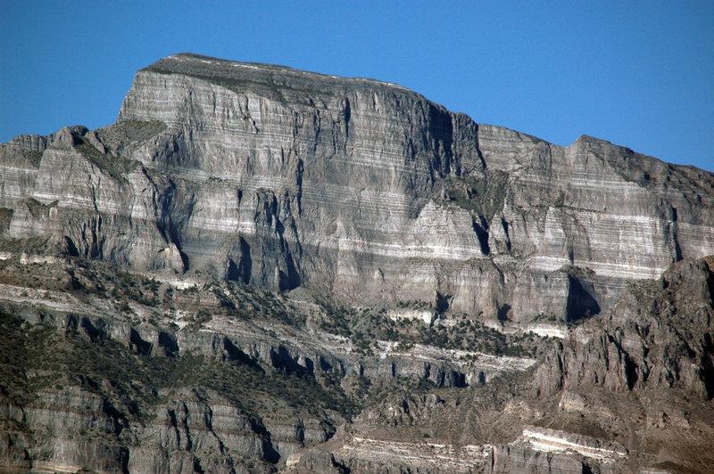Rock Climbing Photo: West face of Notch Peak