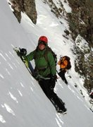 Rock Climbing Photo: Kirk Couloir Challenger Peak