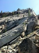 Rock Climbing Photo: Beautiful morning for some granite slab.