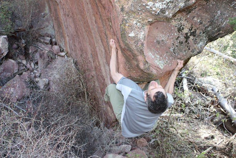 Rock Climbing Photo: Somewhere near Boulder ...