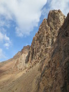 Rock Climbing Photo: The South Face of Pioneer Peak.