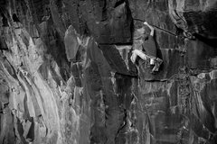 Rock Climbing Photo: JJ running a lap on the classic Dark Arts.  James ...