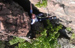 Rock Climbing Photo: chimney climbing