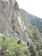 Rock Climbing Photo: From a distance if you come up hill a little from ...