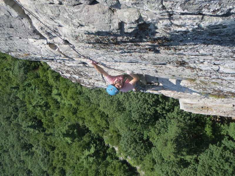 Rock Climbing Photo: High E