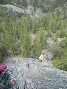 Rock Climbing Photo: Spare Rib Pitch Two