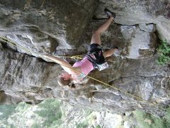 Rock Climbing Photo: This is at Clear Creek Canyon