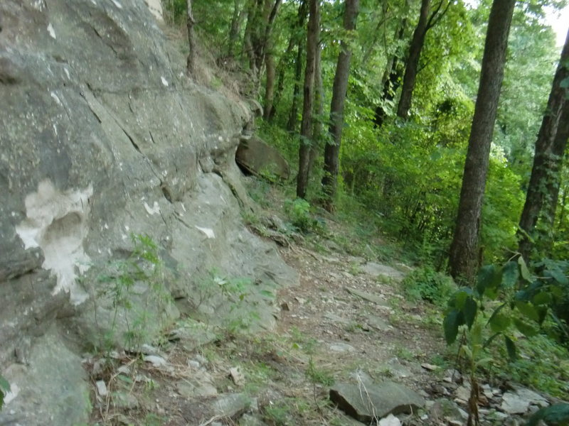 Rock Climbing Photo: The Base of the Sport Wall