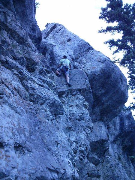 Rock Climbing Photo: Me leading So Sweet