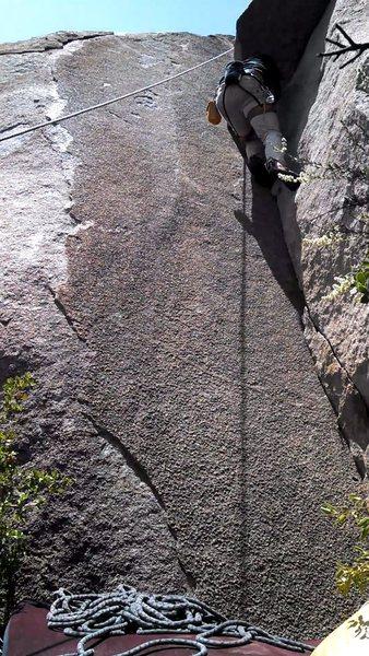 Rock Climbing Photo: TR short 5.8