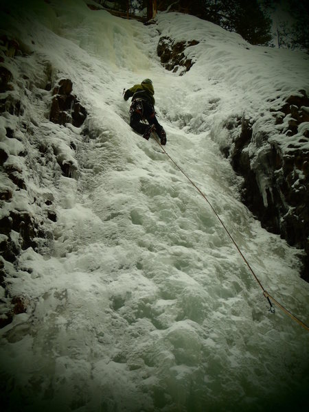 Lower Greensleeves, Hyalite Canyon (January 2011)