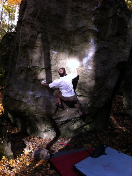 Rock Climbing Photo: Opening moves...